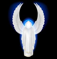 Angel white vector