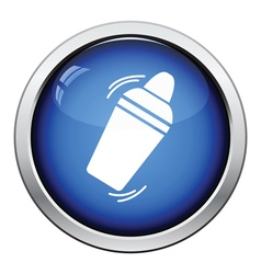 Bar shaker icon vector
