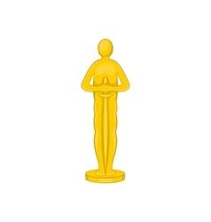 Movie award icon cartoon style vector