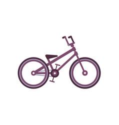Bmx bike modern bicycle vector