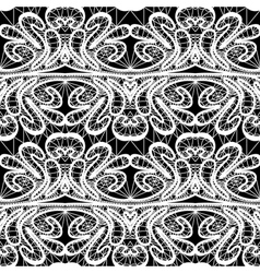 lace seamless 380 2 vector image vector image