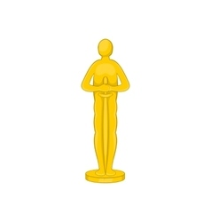 Movie award icon cartoon style vector