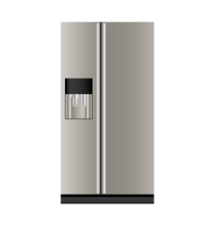 refrigerator or fridge icon image vector image