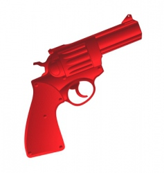 Pistol icon vector