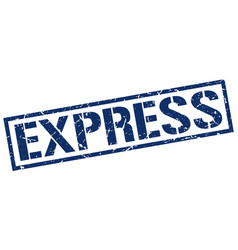 Express stamp vector
