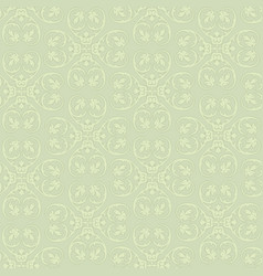 floral seamless background ornamental texture vector image