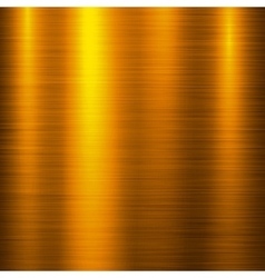 Gold Metal Technology Background vector image