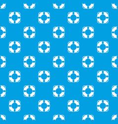 Lifeline pattern seamless blue vector
