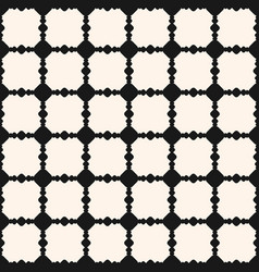 ornamental seamless pattern square grid vector image