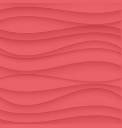 Pink pastel seamless wavy background texture vector