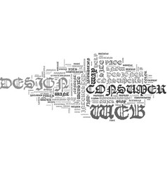 Web design give me bullets text word cloud concept vector