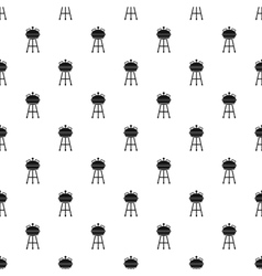 Barbecue pattern simple style vector