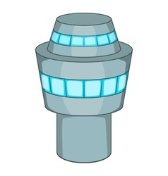 Control tower icon cartoon style vector image
