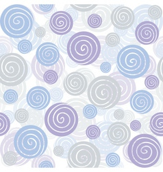 Circles seamless pattern vector