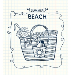 Summer gear vector