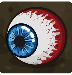Symbol 5 Eye vector image
