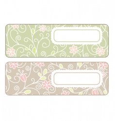 cute banners vector image
