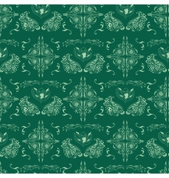 Green islamic pattern vector image