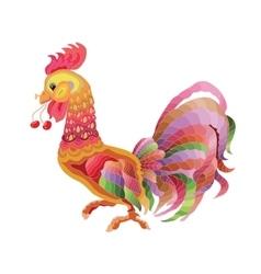 cartoon cock vector image
