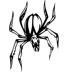spider - halloween set - vector image