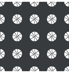 Straight black basketball pattern vector