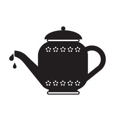 Tea Pot vector image vector image