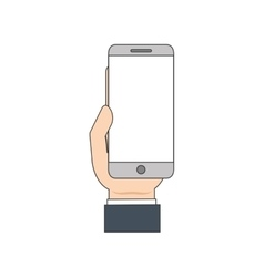 Smartphone mobile gadget icon vector