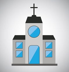 church design vector image