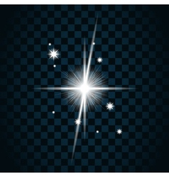 Shine star sparkle icon 19 vector