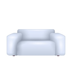 White sofa vector