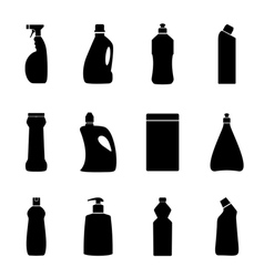 household chemistry vector image