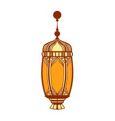 Ramadan lantern colorful vector