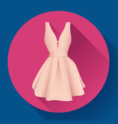 woman dress icon vector image vector image