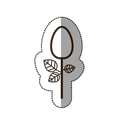 Isolated spoon desggin vector