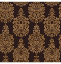 Seamless vintage baroque background vector