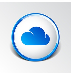 Cloud icon sharing network bin lock forward key vector