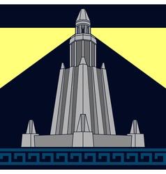 Lighthouse of alexandria third variant vector