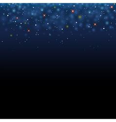 Magic star shine sky magical glitter sky space vector