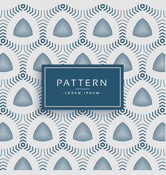 Stylish modern pattern design made with lines vector