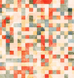 vintage squares seamless vector image