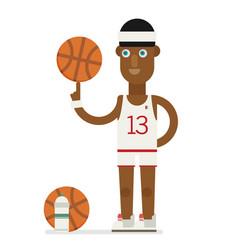 basketball player concept basketball player vector image