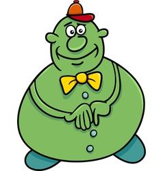 funny character cartoon vector image vector image