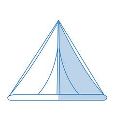 Tent icon design vector