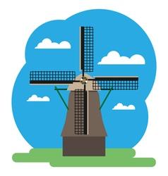 Windmill vector