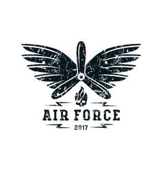 Air force emblem vector