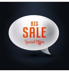 Element bubble big sale vector
