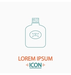 Poison computer symbol vector