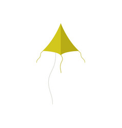 kite icon on white background vector image