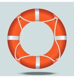 lifebelt or lifebuoy vector image