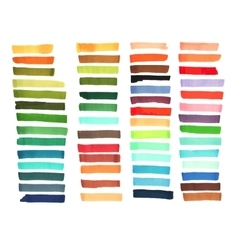 Color stripes drawn with japan markers Stylish vector image